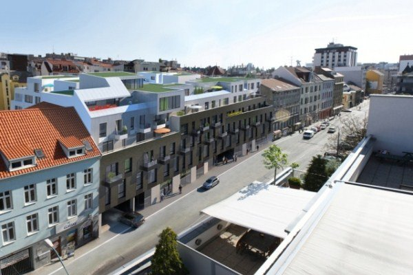 Luxusn� byty v novostavbe na Dunajskej ulici v centre Bratislavy, www.ipbreal.sk