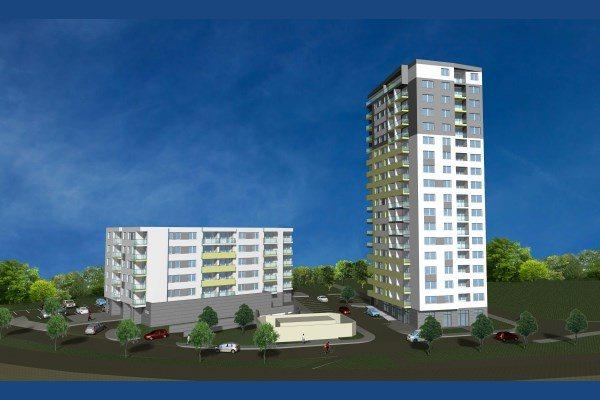 Ra�a TOWER & GATE � nov� projekt modern�ch bytov v Ra�i